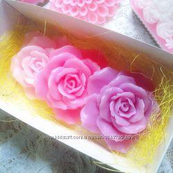 Мыло ручной работы Ажурная роза