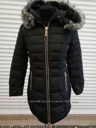 Женская куртка, пуховик Л-2ХЛ. Маломерит
