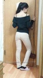 Светлые штаны Odji, удобные