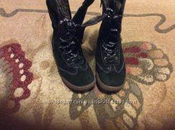 Зимние ботинки для девочки Турция 23 см по стелькеСупер