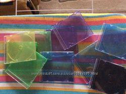 Коробочки для cd и dvd дисков, 10 шт в хорошем состоянии