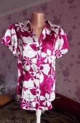 Атласная блуза Debenhams р. 48-50