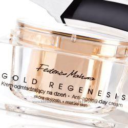 Омолаживающий дневной крем с коллоидным золотом Gold Regenesis FM World