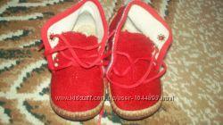 Туфли кроссовки мокасины тапочки для девочки 20-21 размер состояние новых