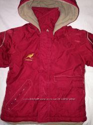 Зимняя теплая куртка для мальчика 104см в идеал состоянии