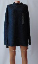 Мягкий ажурный свитер oversize yessica c&a хл
