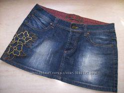 джинсовая юбка в отличном состоянии