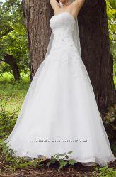 свадебное платье от Dominiss