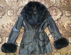 Шкіряна куртка, розмір L