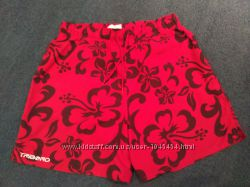 Темно красные шорты