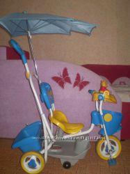 Детский трехколесный велосипед Geoby