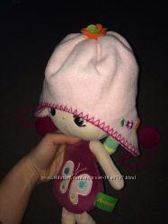 Демисезонная флисовая шапка