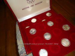 Олимпиада 80 неполный набор серебро