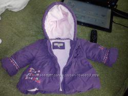 Пальтишко, курточка на 3-6 мес. , 62-68 см