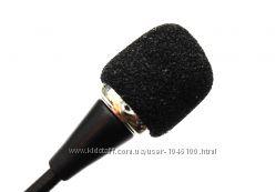 Микрофон с гибкой стойкой Гнучкий міні мікрофон для ПК Ноутбука.