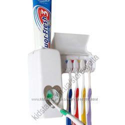 Дозатор зубной пасты с держателем зубных щеток