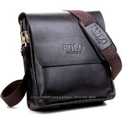 Сумка Polo Videng Кожаные мужские сумки через плечо