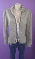 Пиджак теплый, 35 шерсть, р. 48замеры в объявлении Готовимся к весне