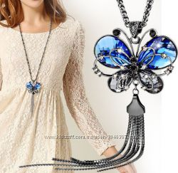 Цепочка с кулоном Бабочка