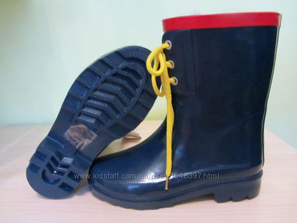 СКИДКА Резиновые сапоги для мальчика 33 размер