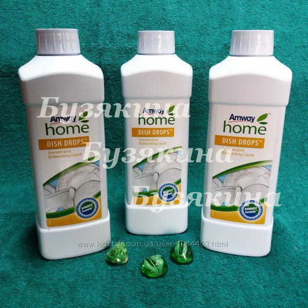 Amway DISH DROPS концентрированная жидкость для мытья посуды 1л