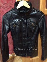 Курточка пиджак из натуральной кожи