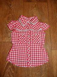 Моднявая блузочка на малышку 6-12 мес.