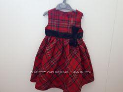 Продам нарядное новогоднее платье 18-24 мес gymboree