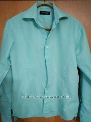 Рубашка, приталенная,  ворот 38см