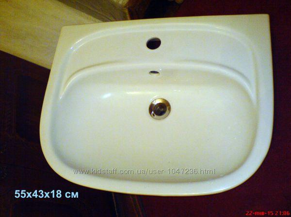 Умывальник Kolo Nova 021155 55х43см. Польша. Белый. Керамика.