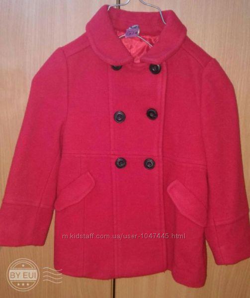Демисезонное пальто Зара