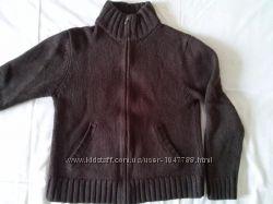 Теплая мужская кофта 100 шерсть