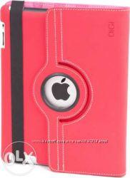 Продам чехол для планшета DIGI IPAD Rotation Book Jaked Dark Pink and grey