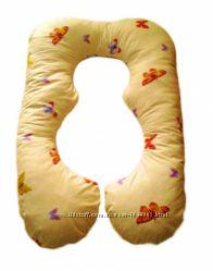 Фигурная подушка для беременных