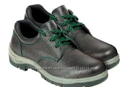 Туфли рабочие кожаные с мет. носком, Польша