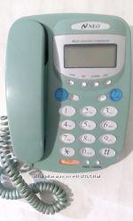 Телефон стационарный. Neo STO6  1. Функция громкой связи 2. Подсветкa