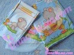 Детское сменное постельное белье 3 предмета Bepino