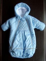 Конверт - мешок для новорожденного Снежинка