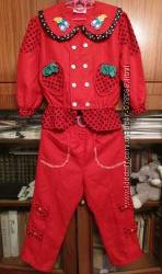 нарядный костюмчик Китай рост 98