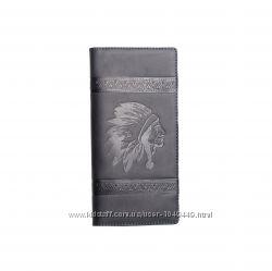 Портмоне кожаное мужское, кошелек кожаный мужской, натуральная кожа