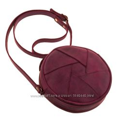 Оригинальная кожаная сумочка кроссбоди. Выбор цвета.