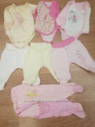 Пакет вещей для новорожденной девочки состояние новых