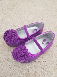 Туфли фиолетовые с паетками