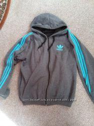 Продам новую спортивную кофту и толстовку Adidas оригинал на флисе