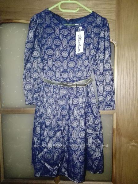 Изысканное платье для девочки, Турция 9- 10 лет