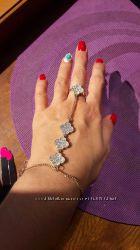 Браслет кольцо бижутерия