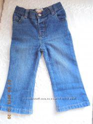 Джинсы брюки, штаны для девочки , Toughskins на 1-2 года