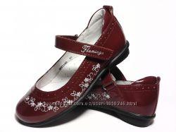 кожаные туфли Flamingo 25, 26 р.