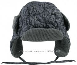 Теплющая шапка-ушанка от Wojcik 86см-98см