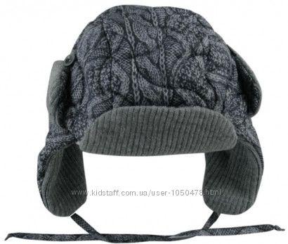 Распродажа. Теплая шапка-ушанка от Wojcik 86см-98см
